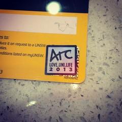 Renewed my Arc membership  #unsw | Nazreen Hassan | Flickr