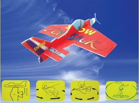 Kid Airplane Foam Airplane Diy Kids Toy