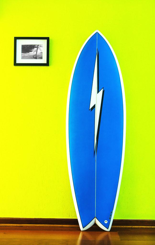 My Retro Fish Surfboard My Retro Fish Surfboard Flickr