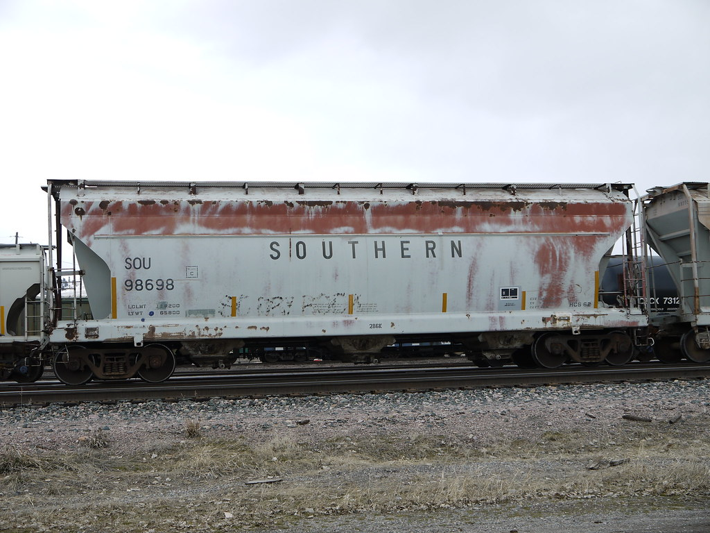 Southern Railway Hopper More Heritage Freight Cars In