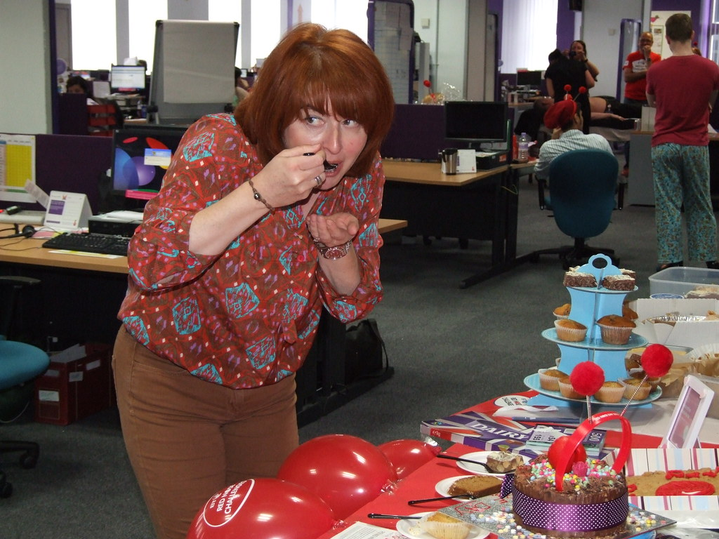 Red Nose Cake Images