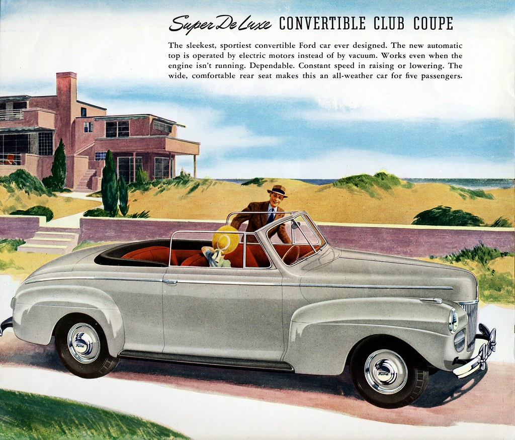 1941 Ford Super De Luxe Convertible Club Coupe Alden Jewell Flickr By Aldenjewell
