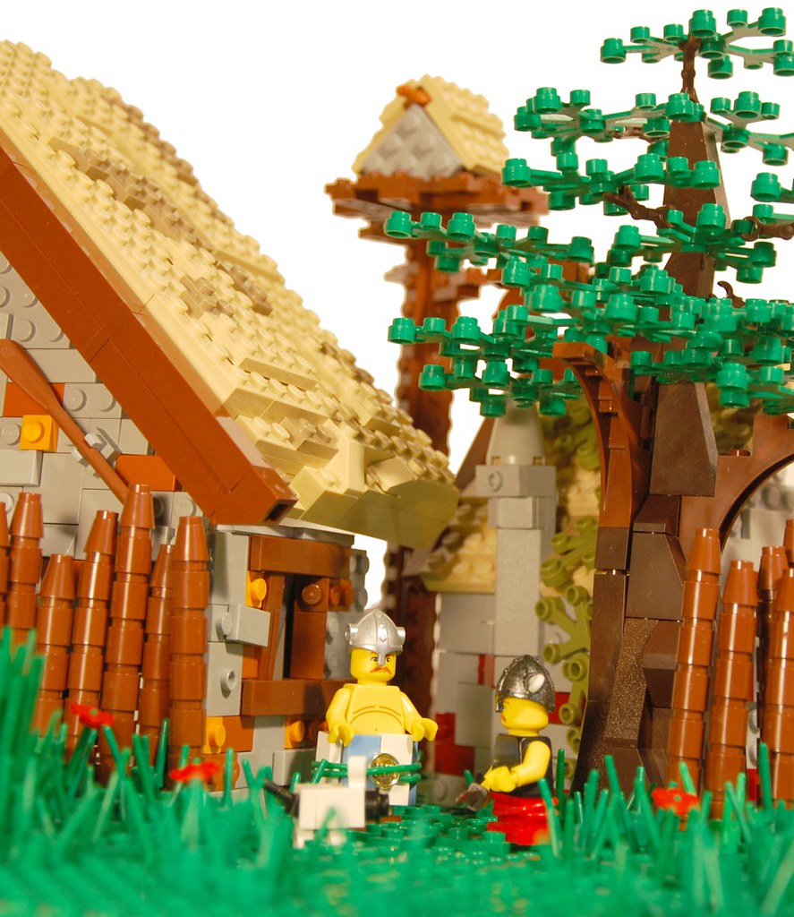 Asterix and Obelix - Village | [...] one small village of ...