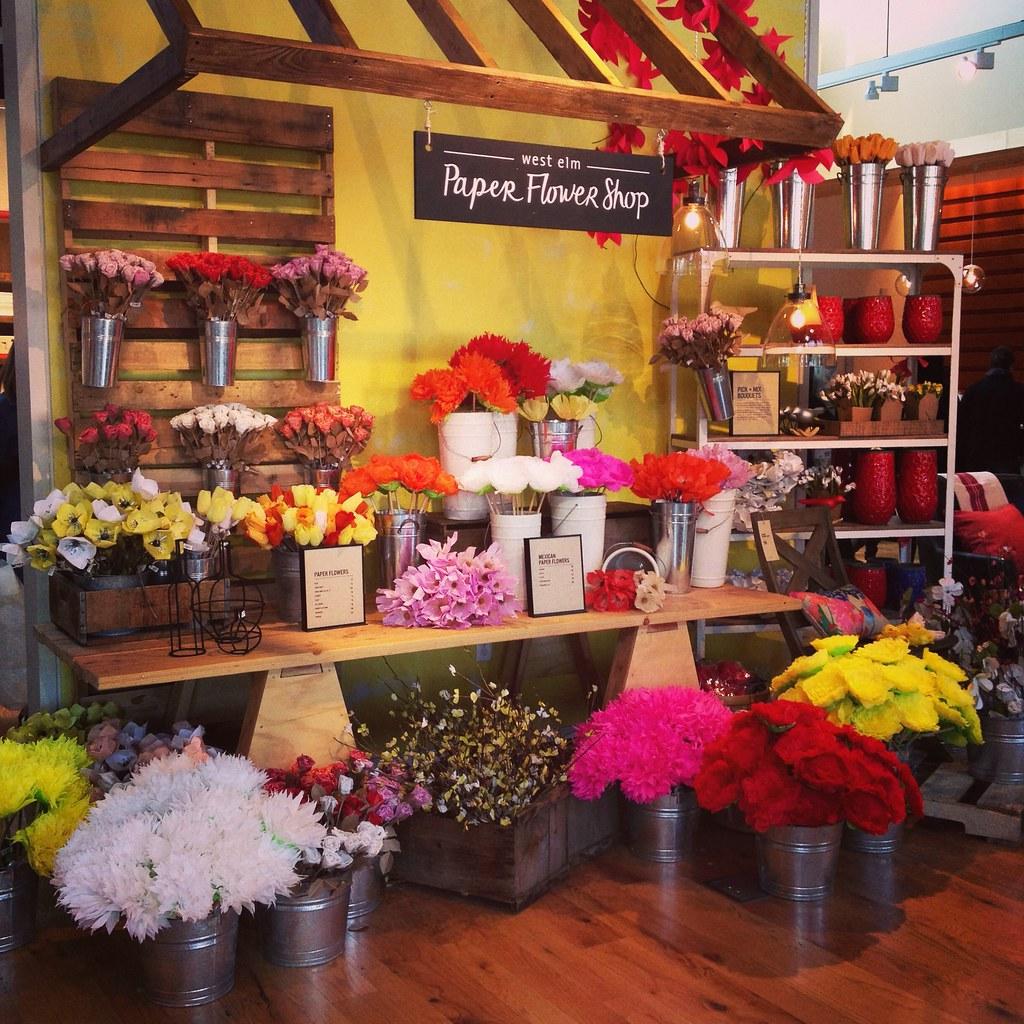 West elm paper flower shop courtney mowry flickr west elm paper flower shop by courtneyureel mightylinksfo