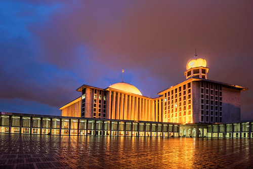 Istiqlal Mosque in Blue Hour | by Abdul Azis (ais) - www.aisprophotography.com
