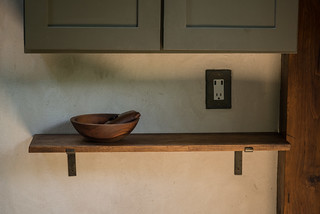 New Shelf in Strawbale Cottage | by goingslowly