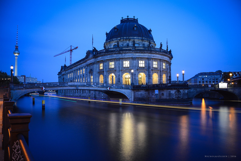 Bode Museum Blue Hour