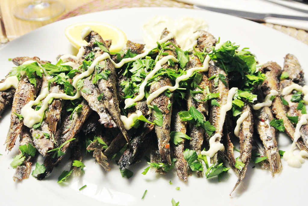 Spanish Style Sardines by Annalise Braakensiek