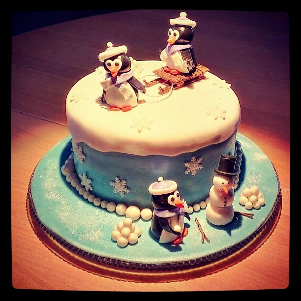Magicofcake Is Back With A Winter Scene Birthday Cake