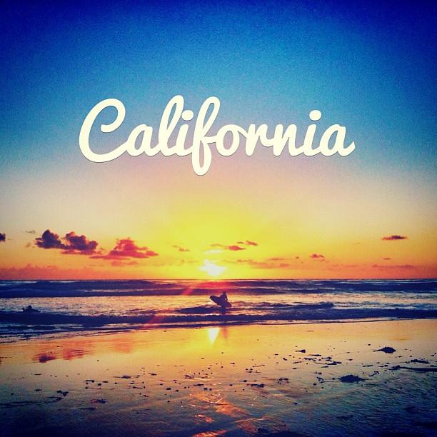 California Sunset Nature Landscape Beach Sunsets Co