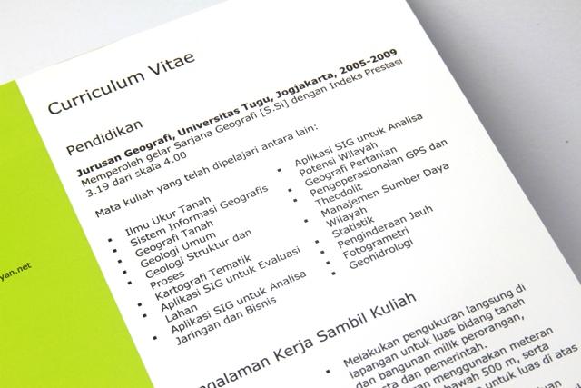 Curriculum Vitae Fresh Graduate 640 Riana Puspasari Flickr