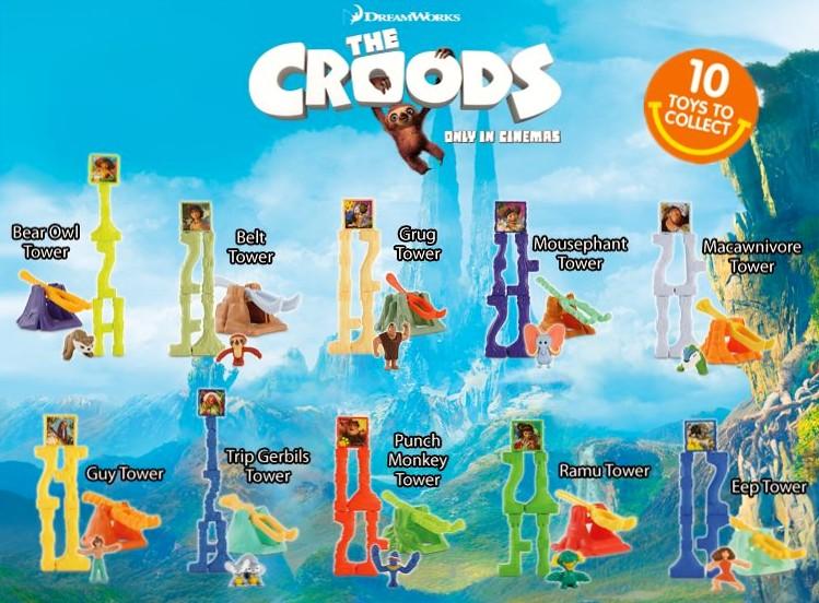 Mcdonald S Happy Meal Toys 2013 : The croods happy meal toy april mcdonald s