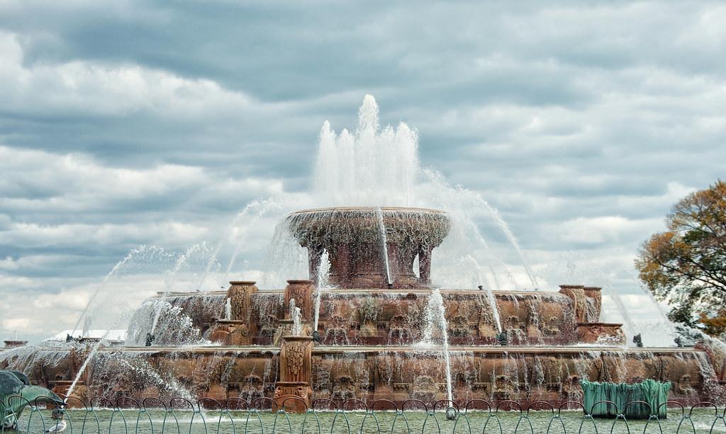 Buckingham Fountain Grant Park Chicago Buckingham