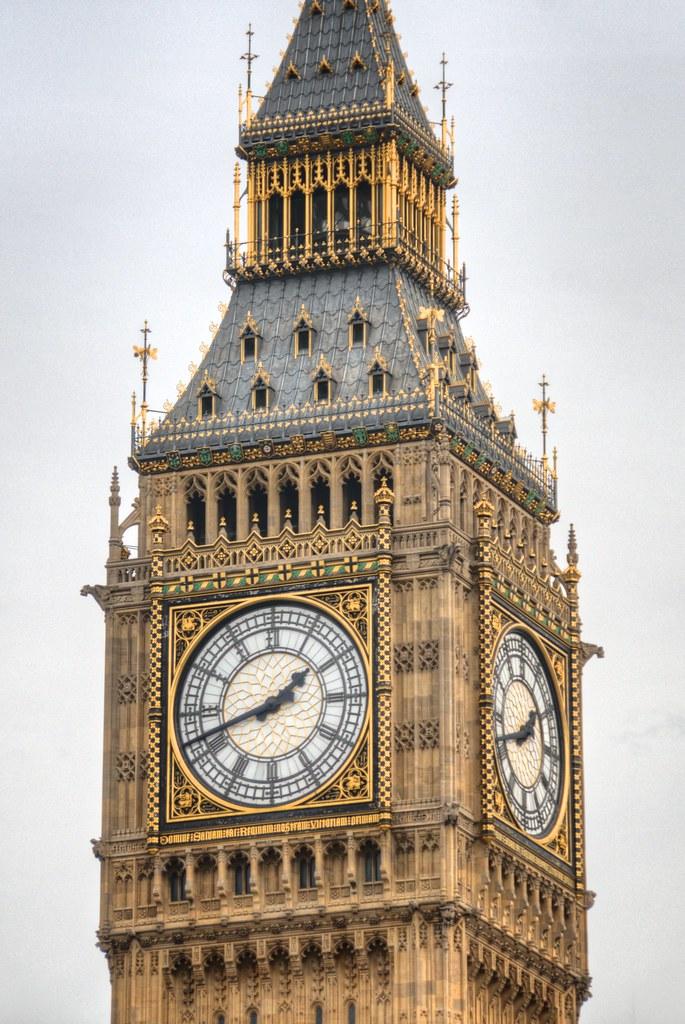 Clock on Elizabeth Tower