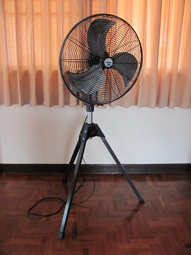 Dimension Of A Floor Fan : Large industrial size floor fan b sold perfect