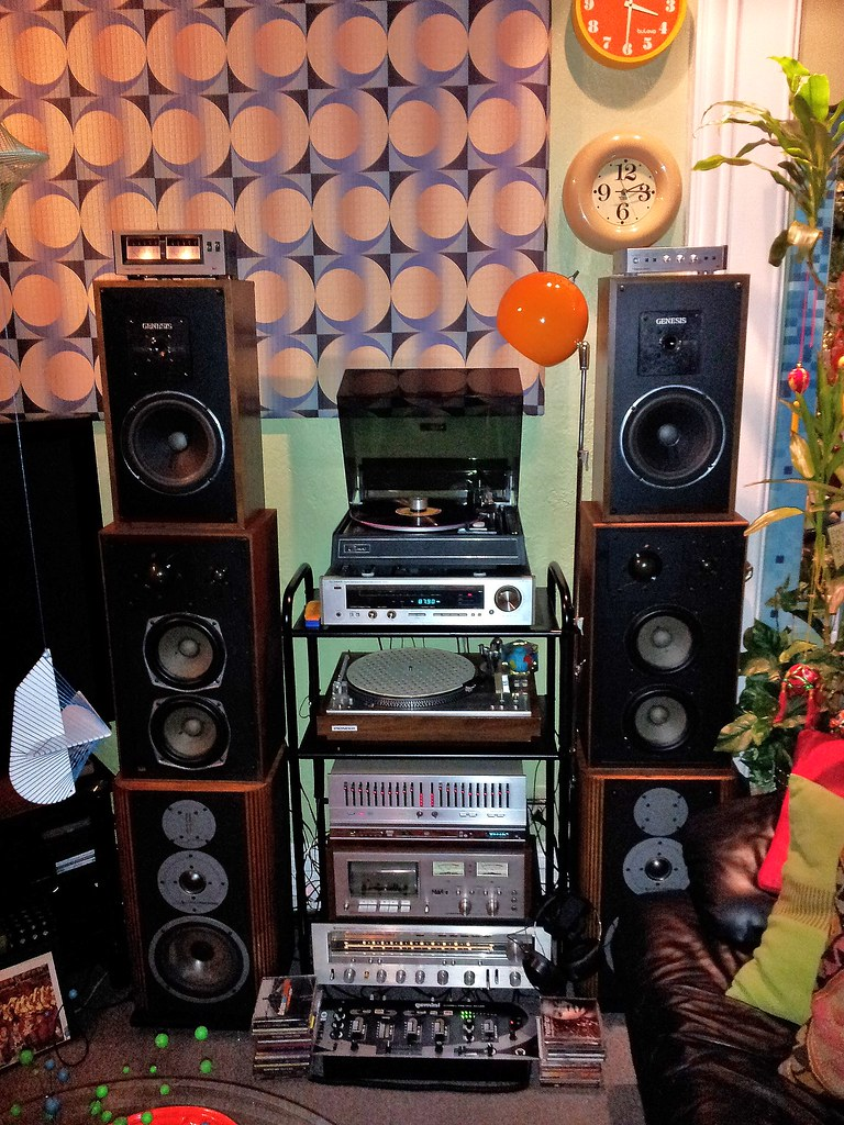 Vintage Stereo System Peace To All Here Is My Daisy