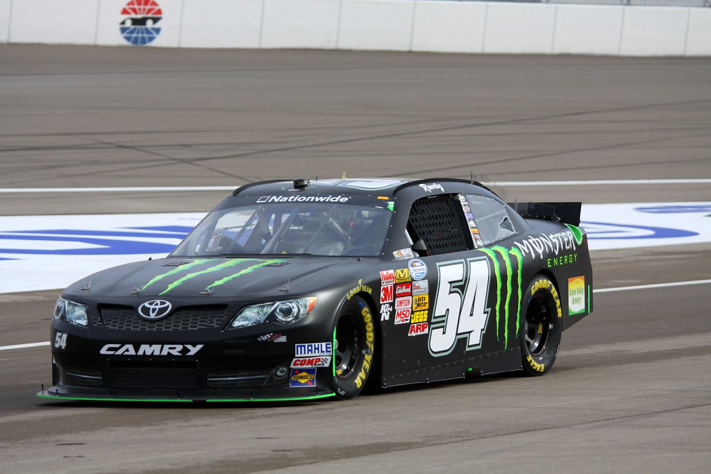 2013 kyle busch 54 monster energy toyota camry kyle thoma flickr. Black Bedroom Furniture Sets. Home Design Ideas