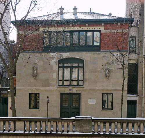 Paris atelier de carpeaux hector guimard architecte 189 for Architecte 3d wikipedia