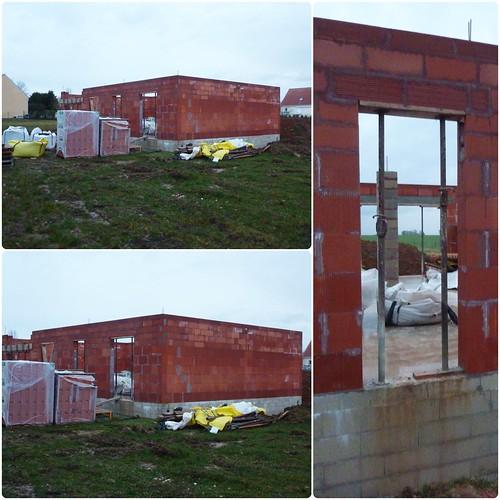 Chantier de construction de maison individuelle chantier - Acces chantier maison individuelle ...