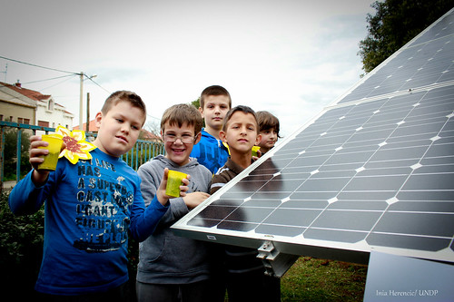 "Zadar school marks the arrival of spring with ""solar sunflower"" 