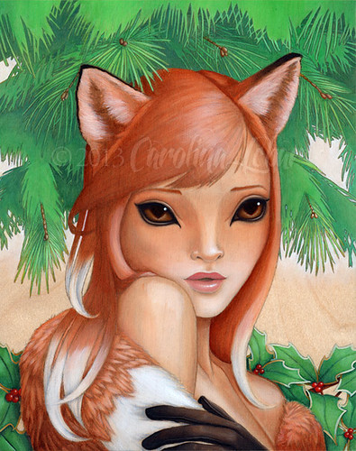 WildThings: Kitsune | by Little Lina
