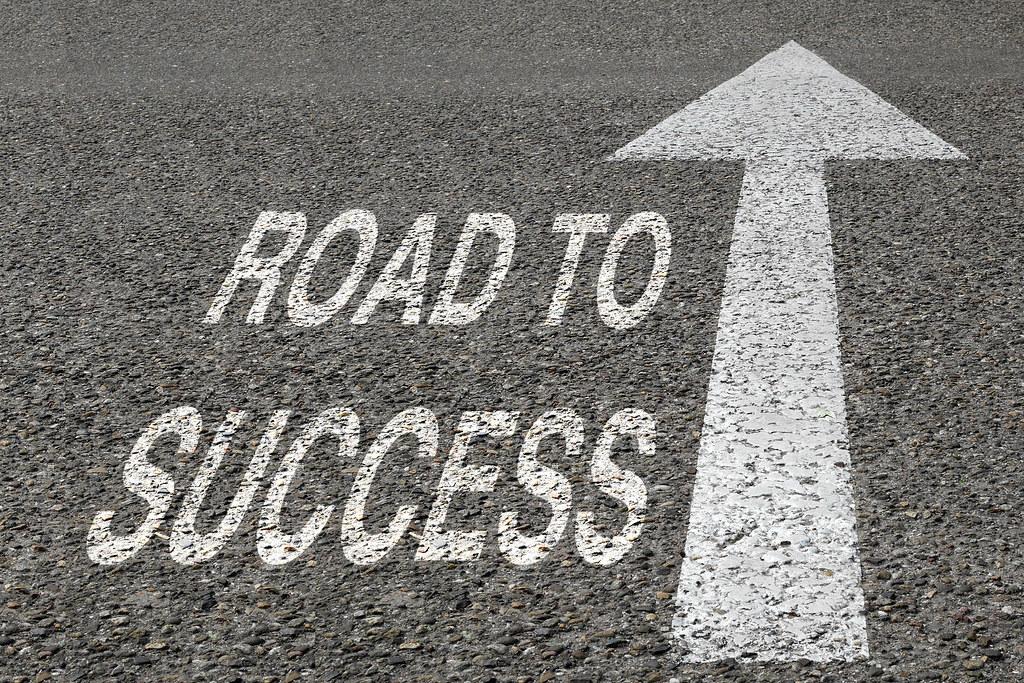 Road to Success - Success - Winning | Success, highway ...