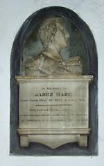 Jabez Hare portrait bust