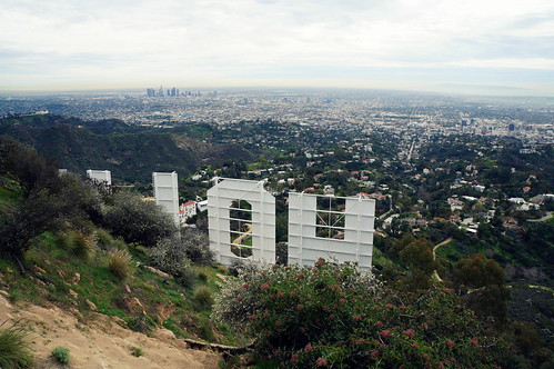 The Hollywood Sign from the top of Mt. Lee | by Texifornian James