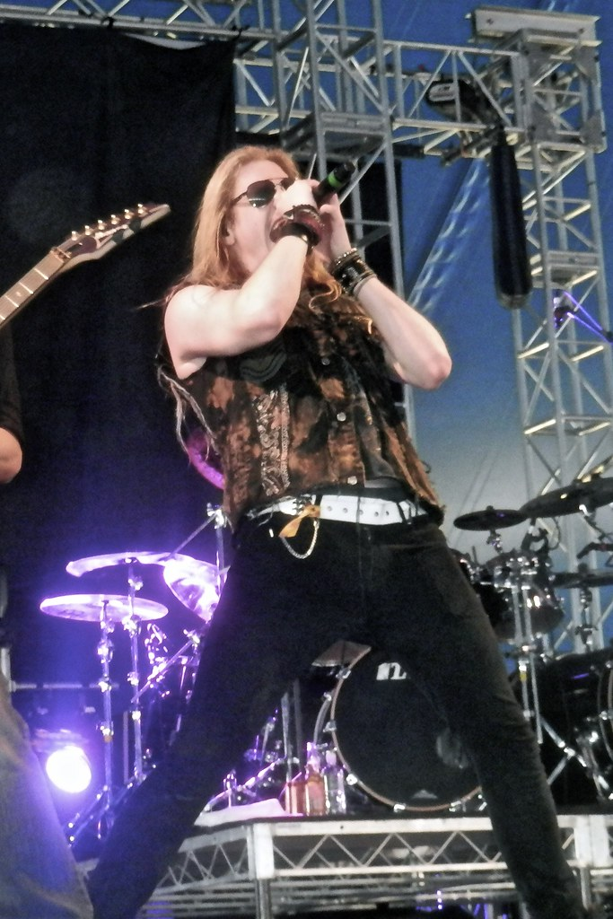 Marc Hudson Dragonforce Soundwave Melbourne