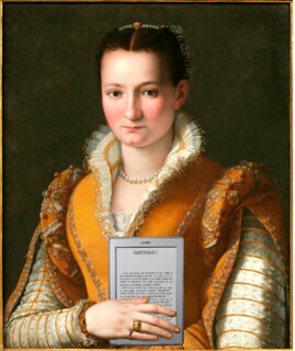 Bianca Cappello De Medici with Her Kindle, after Alessandro Allori | by Mike Licht, NotionsCapital.com