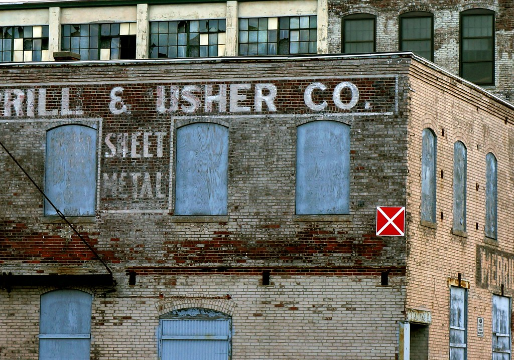Abandoned Factory Worcester Ma Merrill Amp Usher Sheet