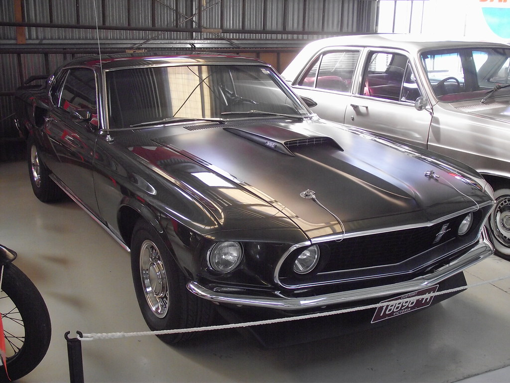 1969 Ford Mustang Mach 1 Very Nice Flickr Fastback 390 By Five Starr Photos Aussiefordadverts