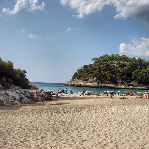 Rincones Cala Mitjana Menorca Playa Beach Islas Ba