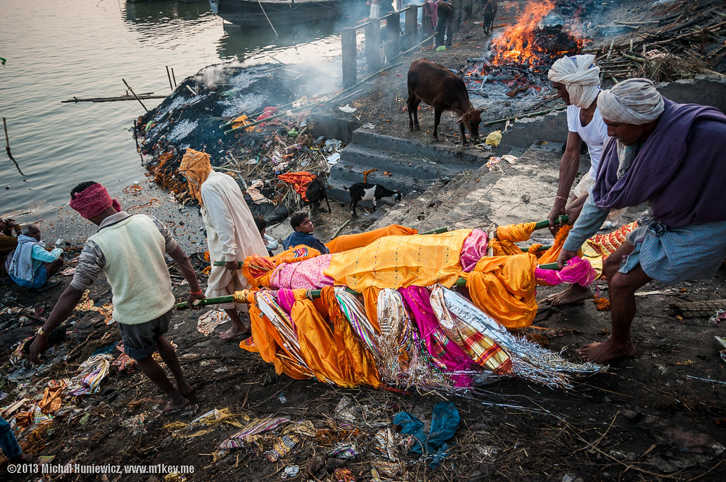 body to the river the custom of cremation might be more th� flickr