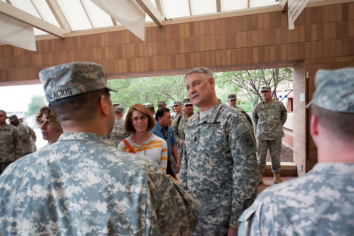 Chandlers visit Brooke Army Medical Center | by Army Medicine