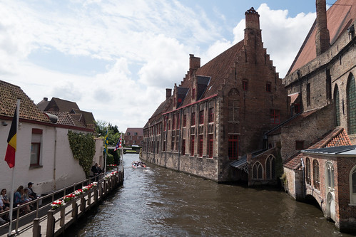 Ghent brick by canal | by quinet