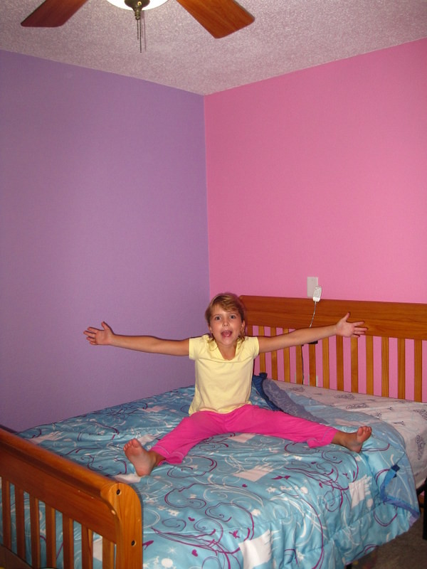 Painting Room - pink and purple 042