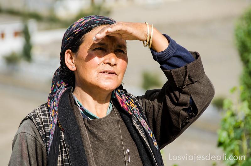 valle del Indo mujer de ladakh