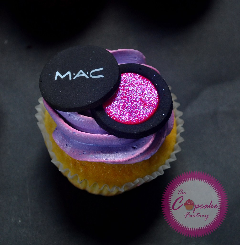 Mac Makeup Cupcakes | Flickr