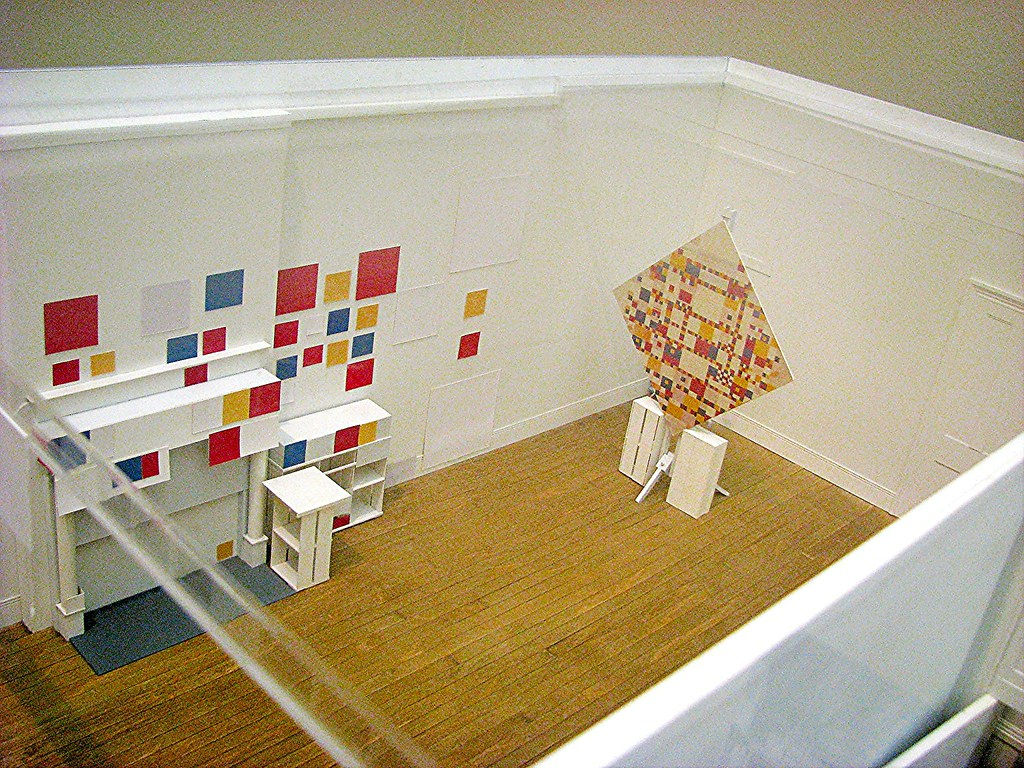 De stijl maquette atelier mondriaan new york mondriaan flickr - Schorsing stijl atelier ...