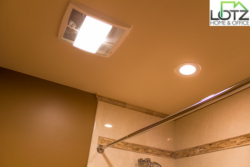 Exhaust Fan Can Light Installation Bathroom Remodel Co Flickr