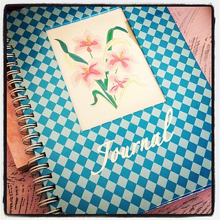 Before... I'm going to re-invent this journal  #crafty #craftaholics #journal | by {Perez Liscano Photography} (Nadia Marie)