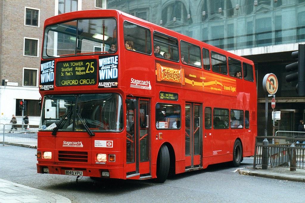 Stagecoach East London Volvo Olympian Alexander VA49 R149V…   Flickr
