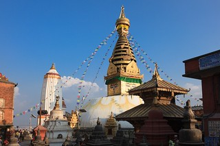Main Tower of Swayambhunath Temple | by qlin zhang