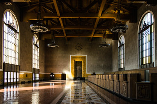 Los Angeles Union Station old ticket room | by JulieAndSteve