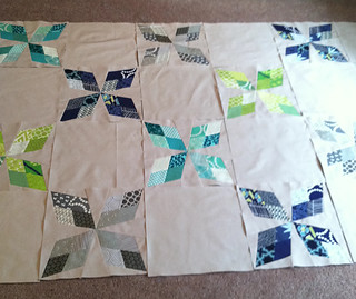 Arkansas Traveler Quilt Top Layout | by Fresh Lemons : Faith