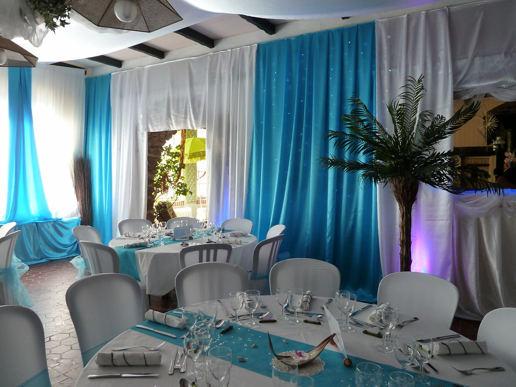 mariage turquoise decoratrice mariage by festidomi - Decoratrice Mariage