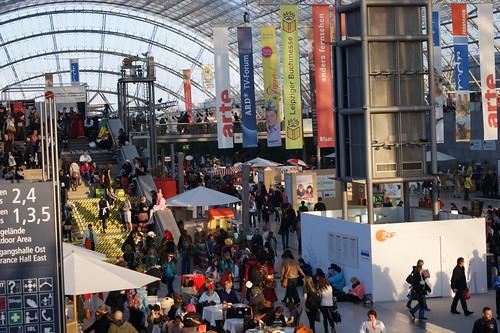Buchmesse Leipzig 2013 - Glashalle