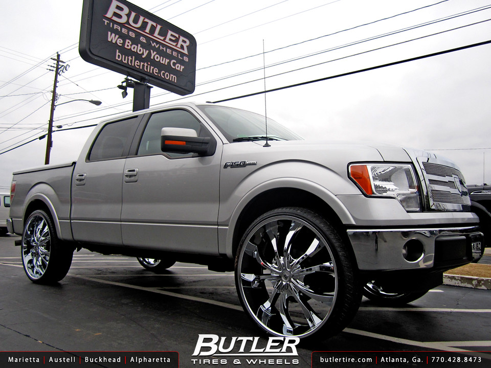 Ford F150 Forum >> Ford F150 with 30in Lexani Lust Wheels | Additional Picture … | Flickr