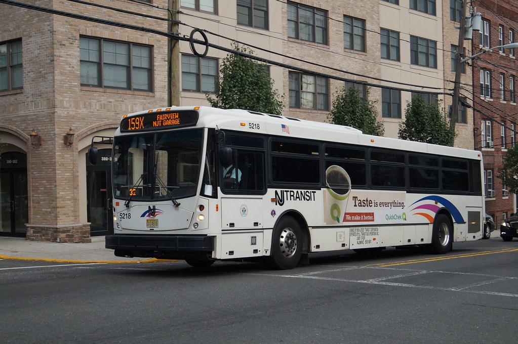 Nj Transit Route 159x Bus Nj Transit Nabi 416 416 15